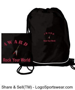 Day-Pak Drawstring Backpack Design Zoom